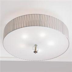 Metropolitan Antique Silver Ceiling Light
