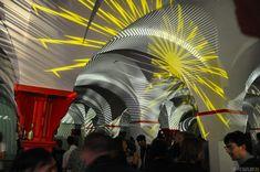 Peter Schildwächter Light Art, E-Culture Fair, Dortmunder U, Dortmund.     #LightArt #ProjectionArt #Illumination #LightArtist #LightArtInstallation #Lichtinstallation #Lichtkunst #Lichtkünstler Light Art Installation, Lights Artist, Illumination Art, Light Architecture, More Photos, Corporate Events, Art Gallery, Museum, Culture