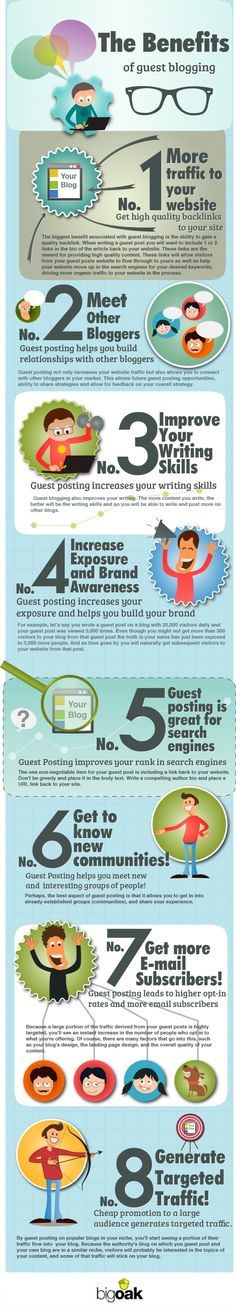 8 benefits to blogging #Infographic