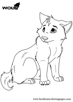 wolf coloring pages for kids 5833 pics to color
