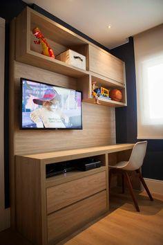 Brinquedoteca - J|K: Quarto de crianças  por Carolina Fagundes - Arquitetura e Interiores