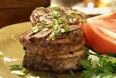Perfect Char-Grilled Filet Mignon from FoodNetwork.com-#1 Paula Deen
