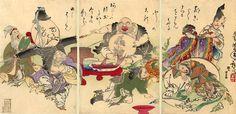 The Seven Lucky Gods - Tsukioka Yoshitoshi