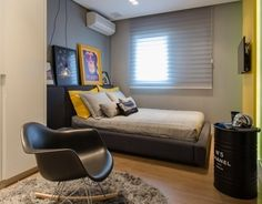 """Check out this @Behance project: """"Young man bedroom 