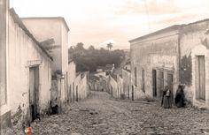 Atlixco, calle típica, 1908