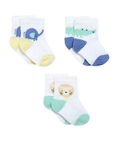 Animal Socks- 3 Pack