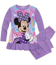 Disney Minnie Pyjama mauve