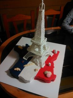 All tower in sugar