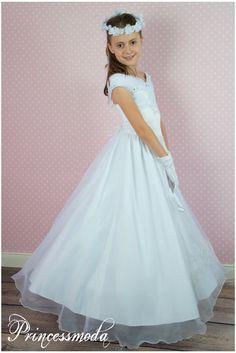 Sissi exquisites kommunionkleid princessmoda alles f r taufe kommunion und festliche - Festliche kleider kommunion ...