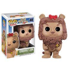 Funko Pop Movies Vinyl 40 Wizard of Oz Cowardly Lion Figure