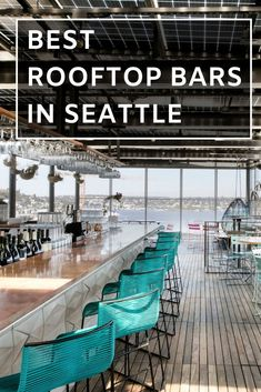 Best rooftop bars in Seattle. We have rounded up the top 6 rooftop restaurants & bars in Seattle to sip on a cocktail and take in the pacific northwest views. Seattle Travel Guide, Seattle Vacation, Mini Vacation, Cruise Vacation, Disney Cruise, Vacation Ideas, Best Rooftop Bars, Seattle Washington, Washington State