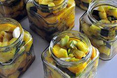 Zucchini, Pickels, Pesto Recipe, Vinaigrette, Parfait, Cucumber, Frozen, Vegan Recipes, Food And Drink