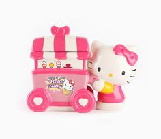 Hello Kitty Collectable Cookie Jar: Ice Cream ☆〜(ゝ。∂)