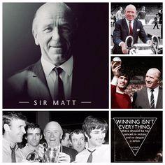 Sir Matt Busby - Manchester United