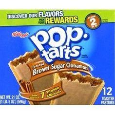 Kellogg's Pop-Tarts Frosted Brown Sugar Cinnamon 1 PACK