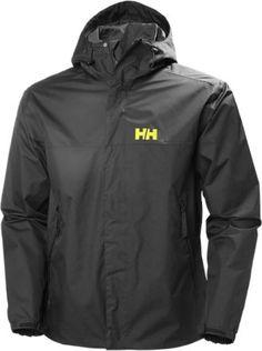 Helly Hansen Men's Ervik Rain Jacket Ebony L