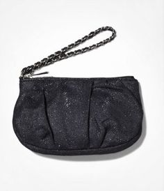 METALLIC MESH RUCHED WRISTLET at Express.  Perfect for a night out ;-)