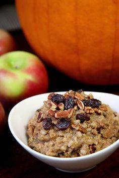 Slow-Cooker Pumpkin Pie Steel-Cut Oats | POPSUGAR Fitness