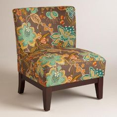 One of my favorite discoveries at WorldMarket.com: Augustus Floral Darby Chair