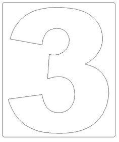 coisas da Ana Paula: moldes dos numerais