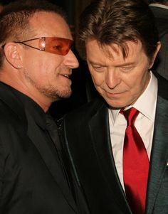 """Bono : """"Hey David, you know how it took you ten years to release a new album? - U2 has taken notice and are taking forever too!"""""""