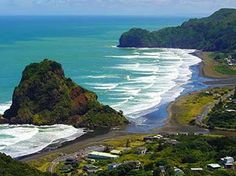 Piha Beach, West Auckland is one of the most popular beaches or 'vacation spot' favorite for the Aucklanders