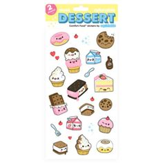 Dessert Stickers by Squishables