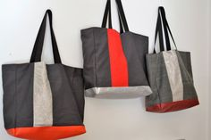 Beach Bag.Big Tote LACANAU BEACH.Grand sac de par BientotDimanche