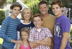 Desperate Housewives:The Scavos   Tom and Lynette   Porter, Preston, Parker, and Penny