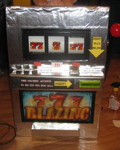 A Working Slot Machine Costume... Coolest Homemade Costumes