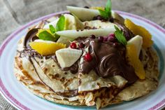 Crepes by Greek chef Akis Petretzikis. Easy recipe for homemade sweet or savory crepes with the basic dough for Sunday's brunch-breakfast! Chef Recipes, Sweets Recipes, Greek Recipes, Cooking Recipes, Desserts, Crepes And Waffles, Savory Crepes, Pancakes, Homemade Crepes