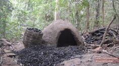 How to Make a Reusable Charcoal Mound in the Woods
