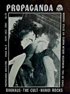 Propaganda Magazine, Issue FiveSept. - Oct. 1985