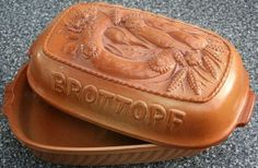 keep your German Brotchen or bread in a bread pot - made out of ceramic. Never keep it in plastic bags.