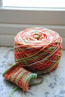 A couple weeks ago I spent the day dyeing yarn in my crock pot with Kool-Aid. Crochet Box, Knit Crochet, Loom Knitting, Knitting Patterns, Knitting Ideas, Kool Aid Dye, Yarn Inspiration, Hand Dyed Yarn, Yarn Colors