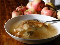 Õuna-kohupiimavorm õunakisselliga