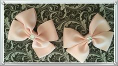 Light pink.basic boutique hairbows