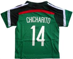 Amazon.com   2014 MEXICO HOME CHICHARITO 14 FOOTBALL SOCCER KIDS JERSEY  (10-11 YEARS)   Sports   Outdoors 61cfa5e4b