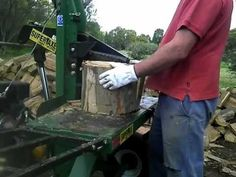 Wood Splitter That Does More Than Split Wood - Two Stage Wedge - YouTube