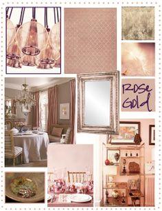 Rose Gold in Design