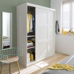 Armoire porte coulissante sur pinterest armoire pas cher armoire design et - Armoire 2 portes coulissantes pas cher ...
