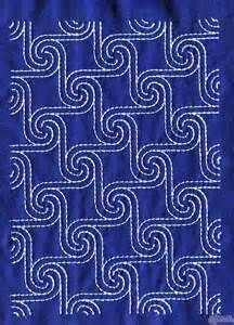 Sashiko Quilt Embroidery Design