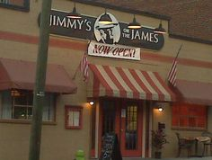 Lounge, speakeasy, amazing Southern American food. Jimmy on the James in Lynchburg, VA