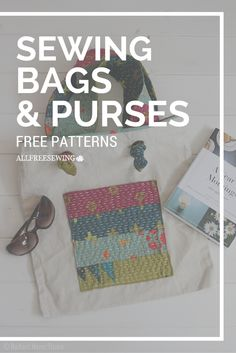 Learn how to make a handbag or purse using any of these free bag patterns. You'll love sewing your own accessories from DIY tote bags to free purse patterns and everything in between.