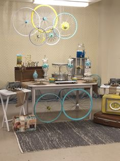 Bicycle Themed Baby Shower Bicycle Themed Baby Shower