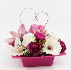 2177 | Pavé for My Valentine from Rose of Sharon Florist | http://www.roseofsharonflorist.com/content/catalog/Catalog_Item.php?prod=2177