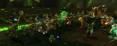 Dancing stags while waiting for Kazz respawn.  #Warcraft