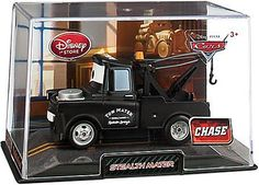 Disney / Pixar CARS 2 Movie Exclusive 148 Die Cast Car In Plastic Case Stealth Mater Chase Edition! by Disney Store. $9.99. Radiator Springs famous tow truck tries to sneak under the radar with his alternative matte black paint scheme. Theres only a limited quantity available of this Chase Edition Stealth Mater Cars 2 Die Cast Car, so pick up the cool looking pickup truck.