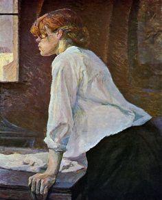 Henri De Toulouse-Lautrec Famous Paintings | Painting henri de toulouse lautrec the laundress 11320 - henri de ...