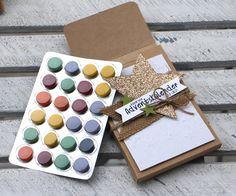 """""""Adventskalender to go"""" - Stampin´ Up! Artisan DesignTeam BlogHop 13.11.2014 - Verpackung mit Prägefolder """"Glückssterne"""" und Juteband Detailbild04"""